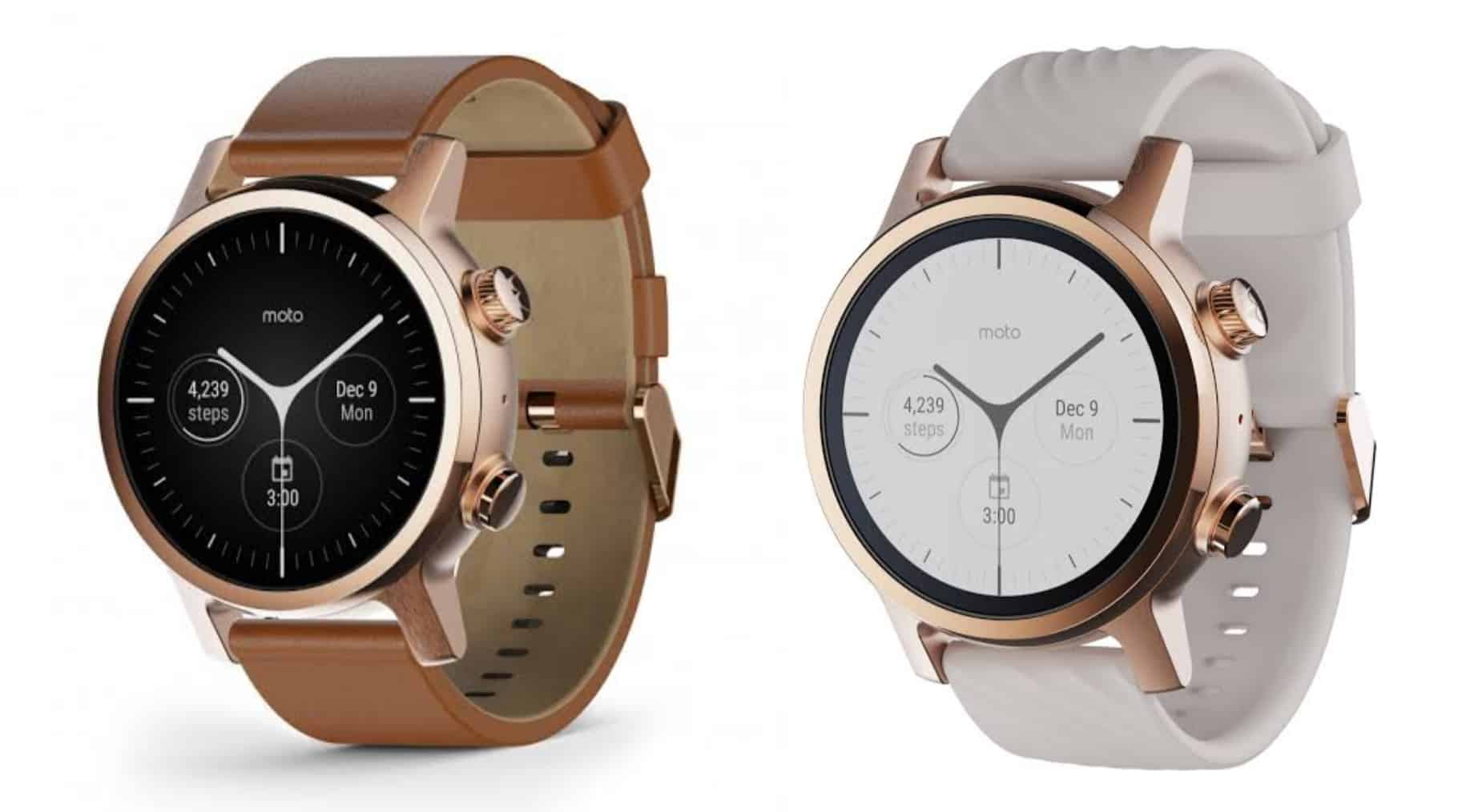 New Moto Wear OS Watches to Come Soon: Moto G, Moto Watch, and Moto One
