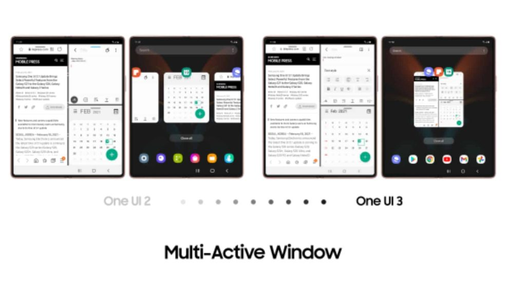 Samsung Galaxy Z Fold 2 Gets New Features With One UI 3.1 Update