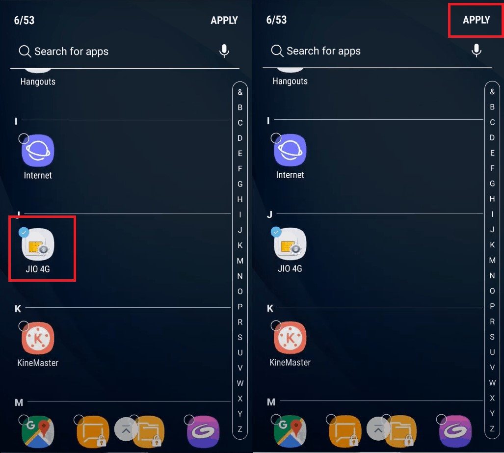How to Hide Apps on Android Devices on Samsung