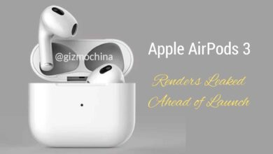 Apple AirPods 3 Renders Leak Ahead of Launch, Third-Gen AirPods Design Revealed