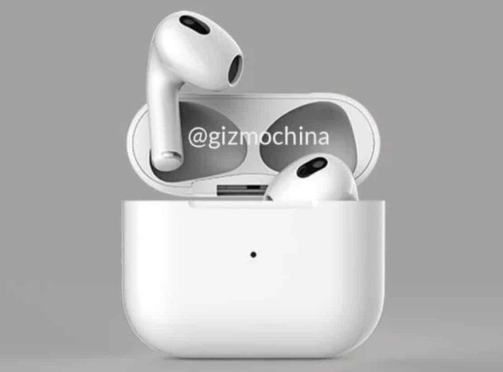 Apple AirPods 3 Renders Leak Ahead of Launch, Third-Gen AirPods Design Revealed
