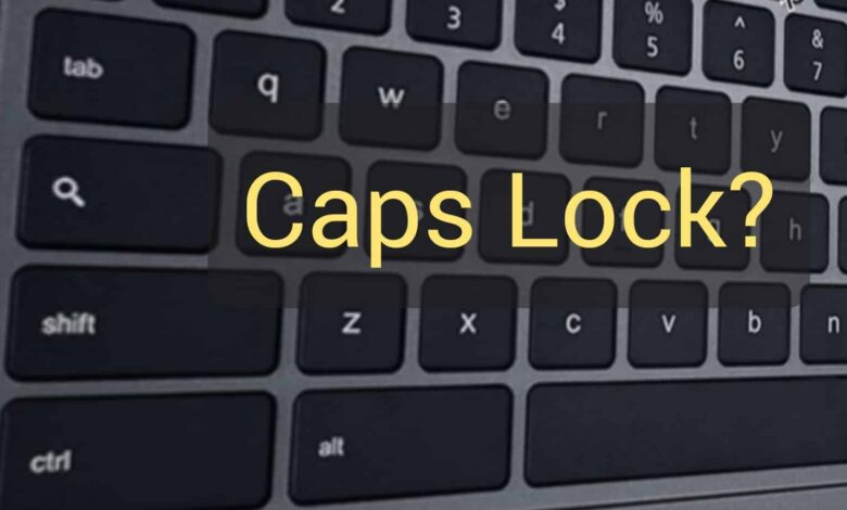 How to Enable Caps Lock on a Chromebook