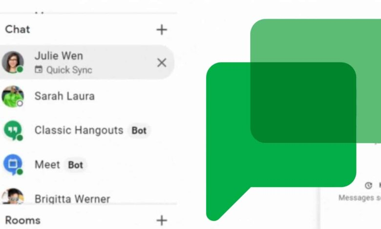 Google Chat Will Automatically Suggest 1:1 Conversations Based on Calendar Events