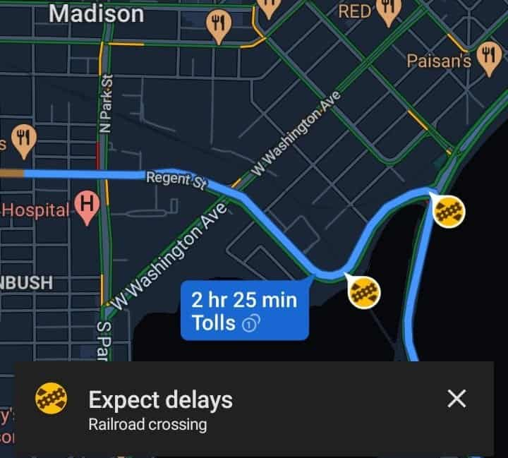 Google Maps Reportedly Adds Railroad Crossing Alerts During Navigation