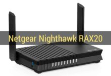 Netgear Launches Nighthawk RAX20 Wi-Fi 6 Router With Dual-Band Support in India