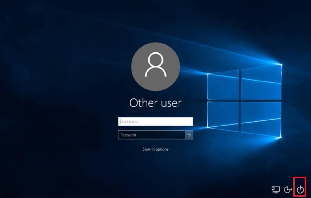 How to start Windows 10 in Safe Mode start menu