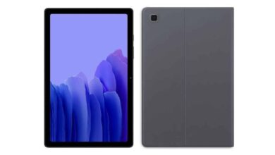 Samsung Galaxy Tab A7 Lite Renders Leaked Ahead of Launch, Will Feature Helio P22 SoC