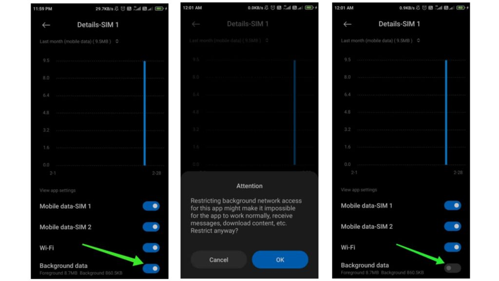 How to Stop Android Apps From Using Data in The Background