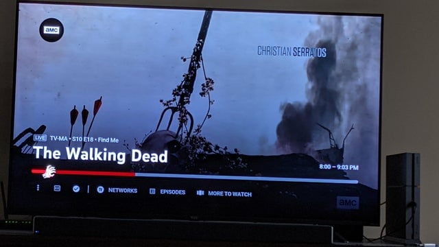 YouTube TV Reportedly Added a Special Marker for The Walking Dead