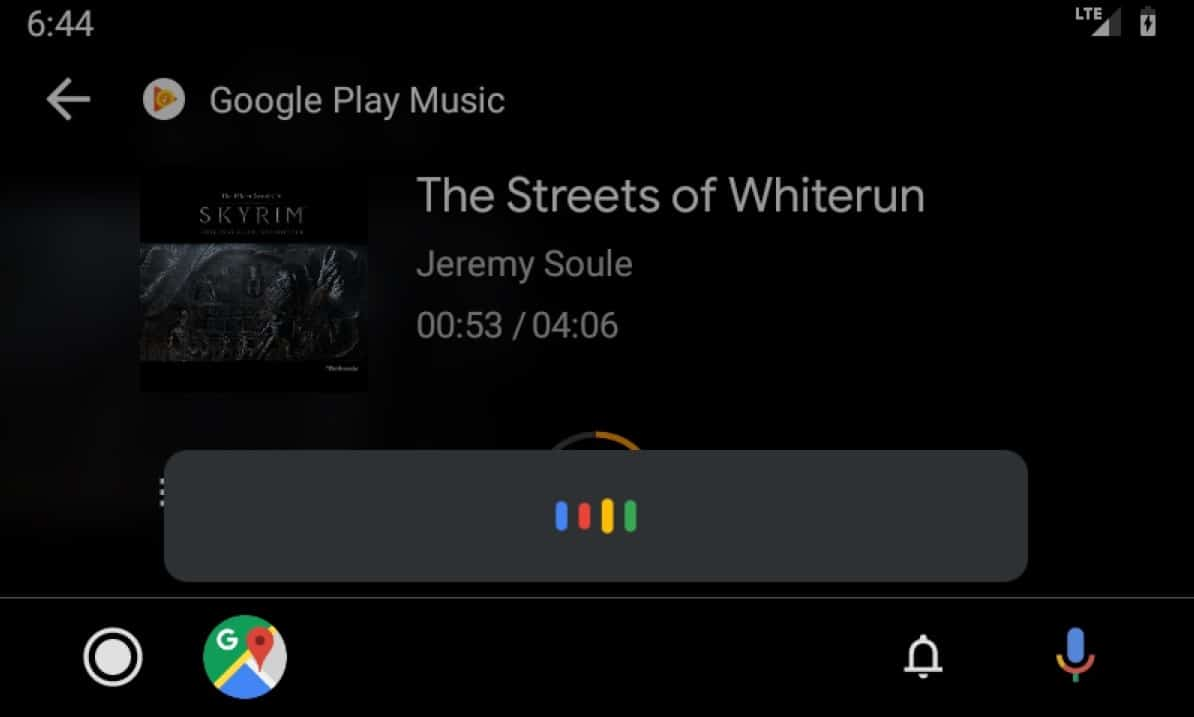 Understanding the Android Auto app screen - Google Assistant
