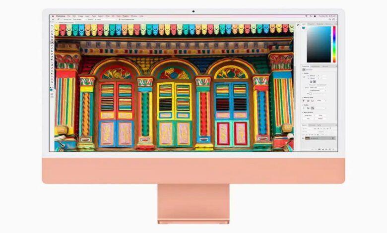 Apple iMac with M1
