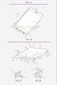 Patent reveals the next Apple iPhone might be outward folding