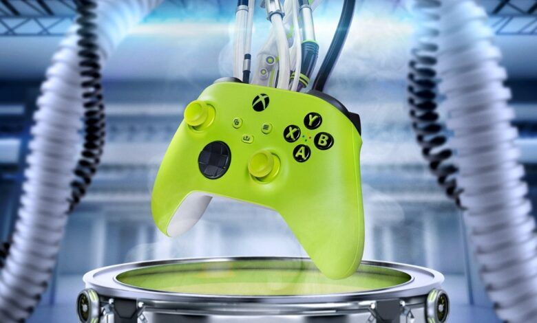 Microsoft Xbox Electric Volt Controllers is now available at $64.99