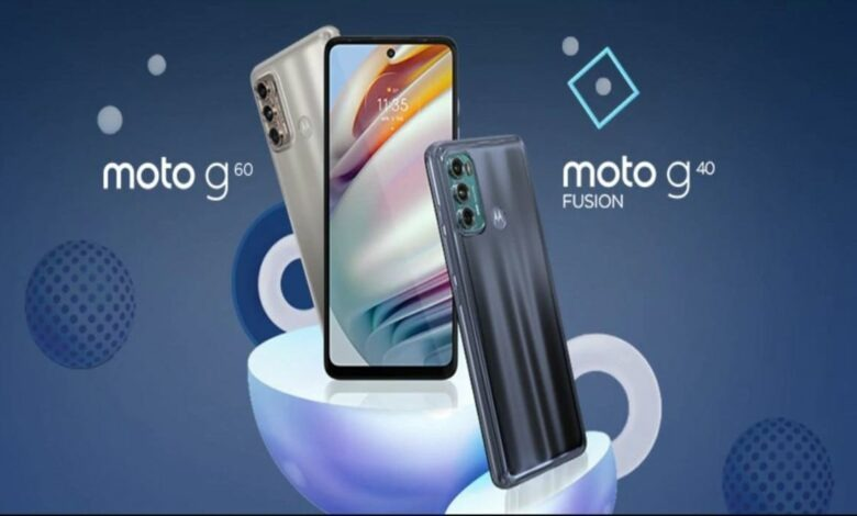Motorola Moto G60 and Moto G40 Fusion with Snapdragon 732G launched in India