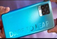 How big is the Realme 8 Pro 108MP camera
