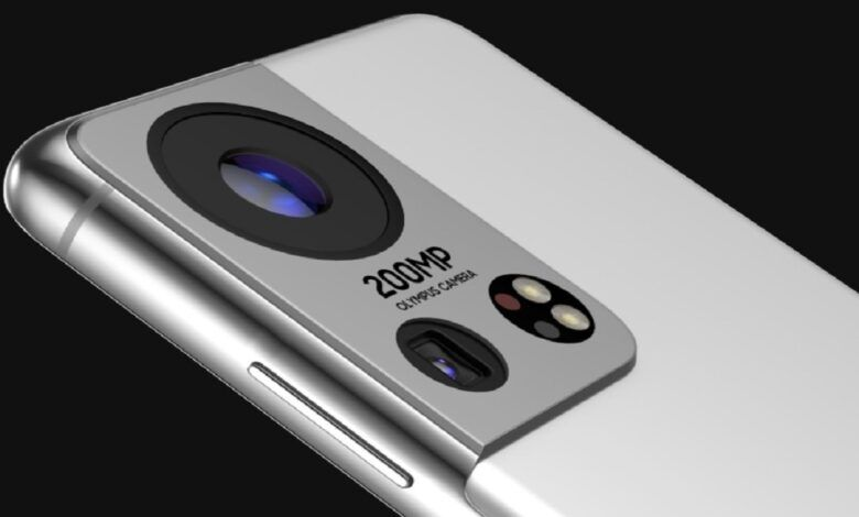 Samsung Galaxy S22 200MP Olympus Camera