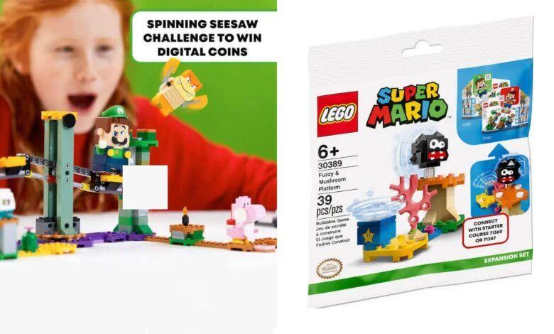 Nintendo celebrates the success of Luigi with this exclusive Luigi LEGO bundle set at £49.99