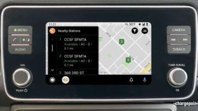 ChargePoint Adds Android Auto Support for Finding Nearby EV Chargers