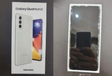 Samsung Galaxy Quantum2 (Galaxy A82) Live Images Leaked, Phone's Design Revealed