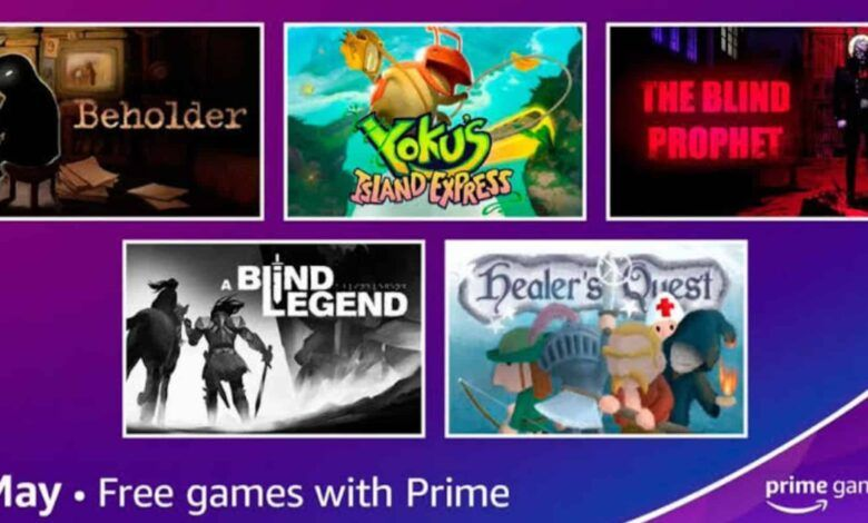 Amazon Prime's 5 Free Games
