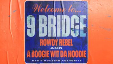 """A Boogie Wit Da Hoodie and Rowdy Rebel Join Forces on New Track """"9 Bridge"""""""