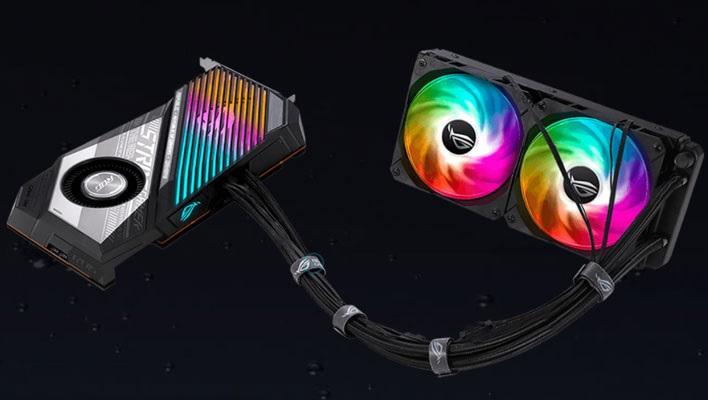 Asus releases Asus ROG STRIX Radeon RX 6900 XT with AMD Navi 21 XTXH GPU