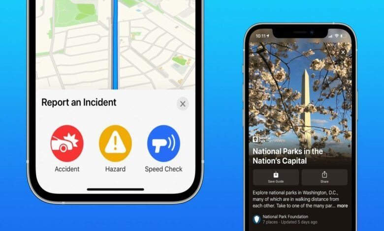 A new feature lets users report accidents on Apple Maps using Siri