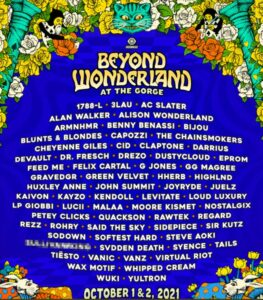 Beyond Wonderland lineup now out featuring Alison Wonderland, Rezz, JOYRYDE, and The Chainsmokers.