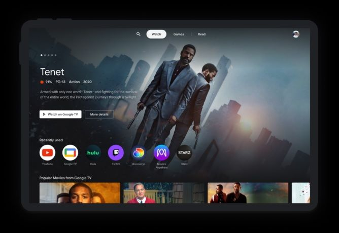 Google is reprising tablets with Entertainment Space to glue in users