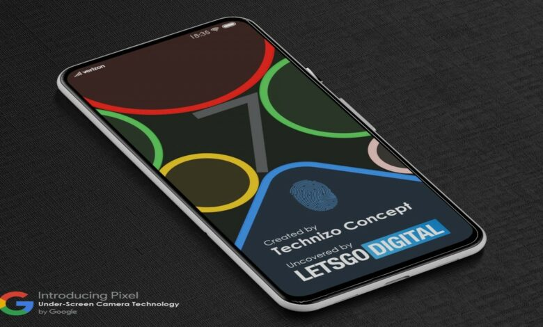 Google' foldable smartphone might come with a disappearing under-display camera sensor