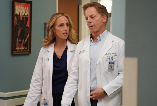 Greg Germann of Grey's Anatomy exits as series regular along with Jesse Williams