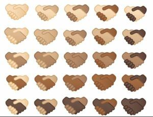 Google might introduce the toned handshake emoji in multiple skin colors with Unicode 14.0 next year