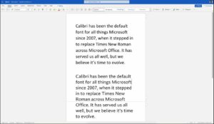 Microsoft Office all set to replace Calibri with Seaford after 14 years