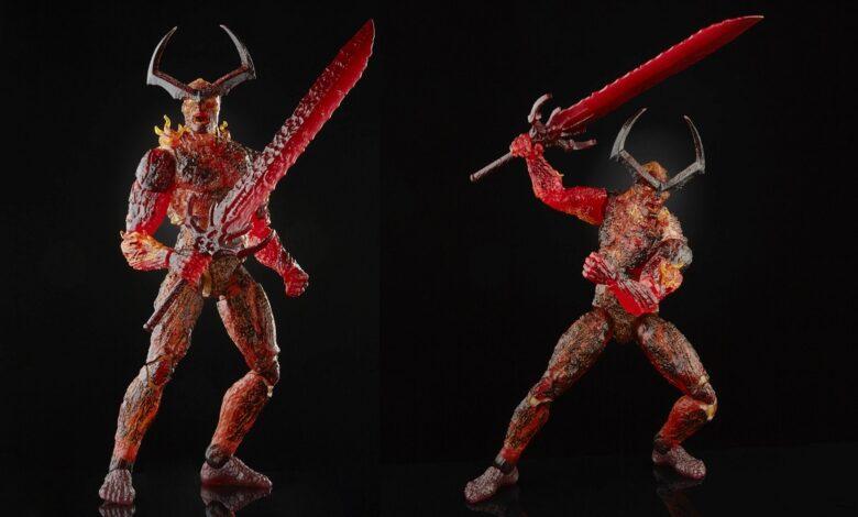Marvel Legends releases Infinity Sage Figures - Surtur at $52.99