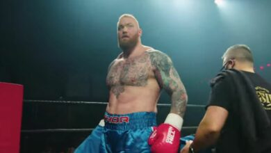 The Mountain from Game of Thrones seems to have lost a lot of weight