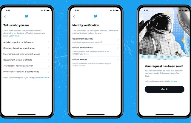 """Twitter introduces transparent application process to get """"Verified"""" badge"""
