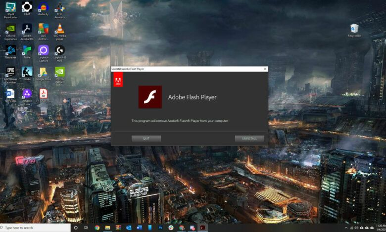 Windows 10 will no longer support Adobe Flash Player starting July