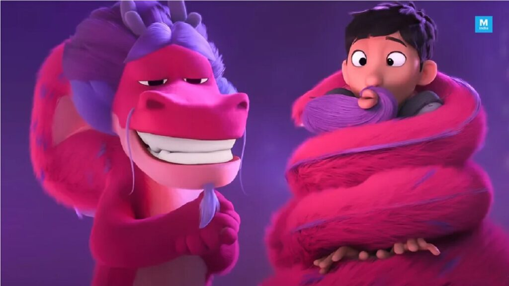 A new family animated entertain Wish Dragon to release on Netflix on June 11