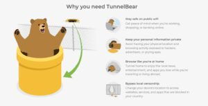TunnelBear - free VPn for Android