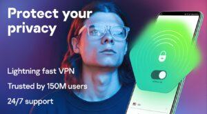 Kaspersky VPN - best VPN for Android