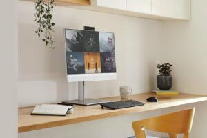 HP EliteOne 800 G8 is the first AIO to offer AI Noise Reduction Feature