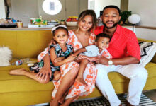 John Legend and Chrissy Teigen show fans their renovated Beverly Hills mansion