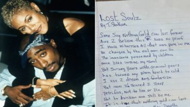 Jada Pinkett Smith shares an unreleased poem by Tupac