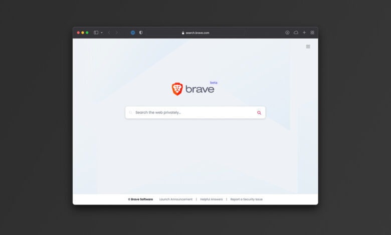 Brave launches search engine with anti-tracking features