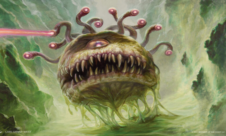 Magic: The Gathering and Dungeons and Dragons crossover is real