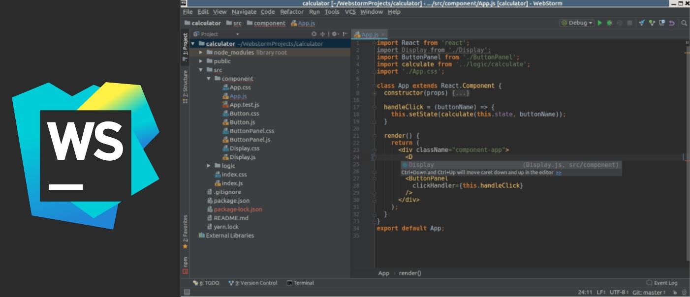 IDE for Node JS 2 WebStorm