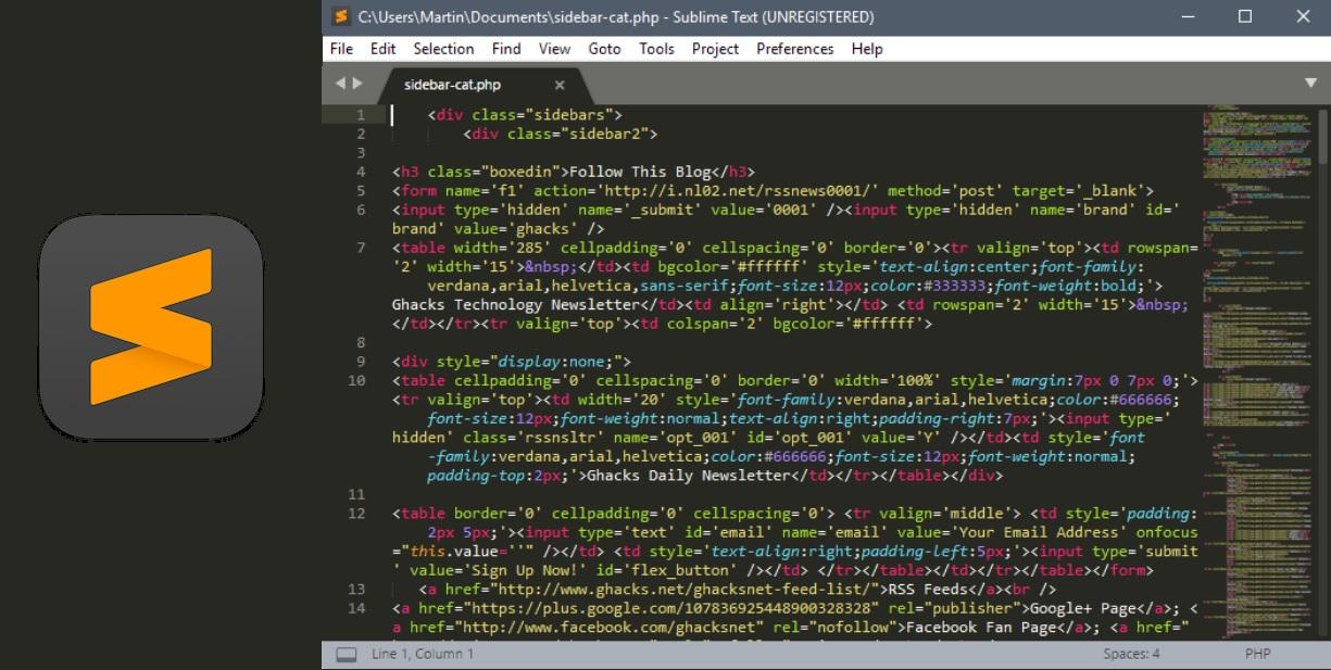 IDE for Node JS 4 Sublime Text