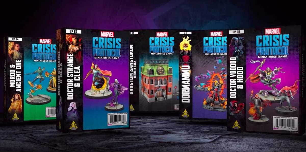 Marvel Crisis Protocol packs