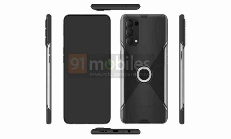 OPPO gaming smartphone spotted on EUIPO