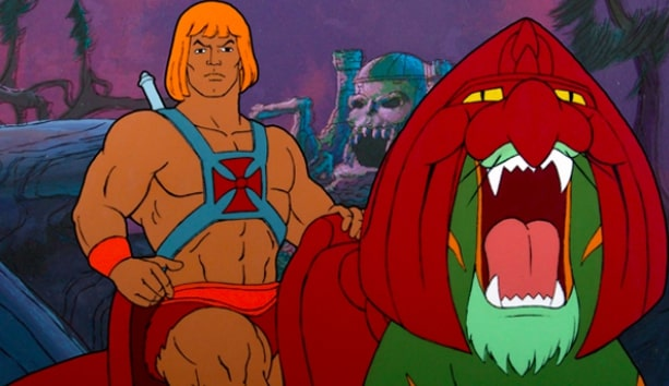 Battle cat and He-Man